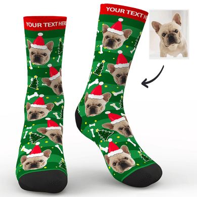 Christmas Custom Dog Socks - FaceSocksUSA