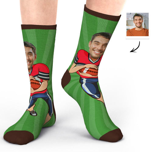 Photo Socks Face Socks Super Bowl Gifts for Husband
