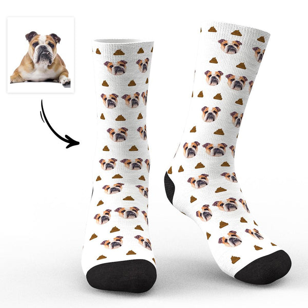 Custom Face Socks-Dogs