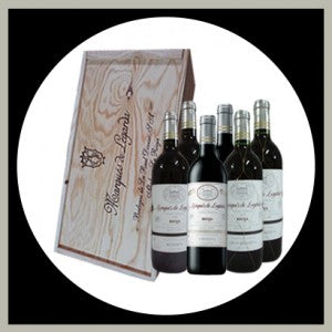 Estuche Marques de Legarda (6 botellas)