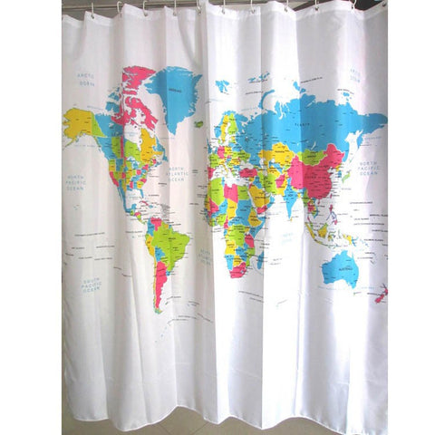 Social-Themed or Transparent Shower Curtain – The Island Game Store