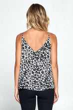 Load image into Gallery viewer, Fierce As A Mother Animal Print V-Neck Tank Top