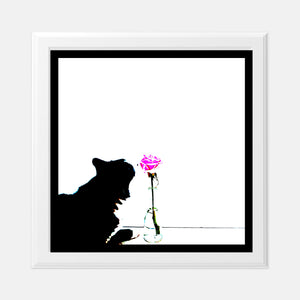 Stop and Smell the Roses 8x8 Print