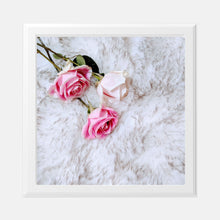 Load image into Gallery viewer, Roses and Fur 8x8 Print