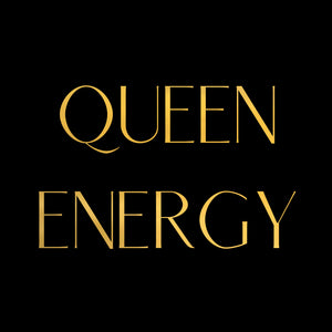 Vision Board Queen Energy 8x8 Gold Foil Print