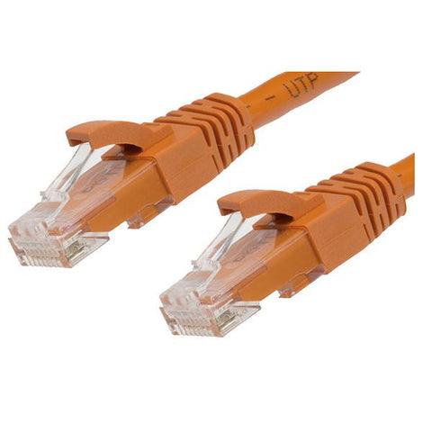 Orange Cat 6 Ethernet Network Cable