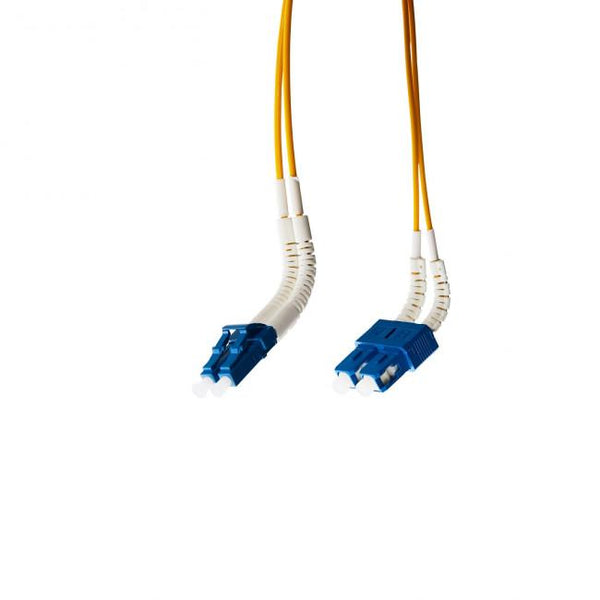 Lc-Sc Flexi Boot Os1/Os2 Singlemode Fibre Optic Cable