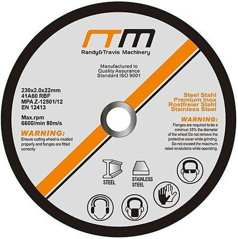 "230mm (9"") Cutting Disc Wheel for Angle Grinder"