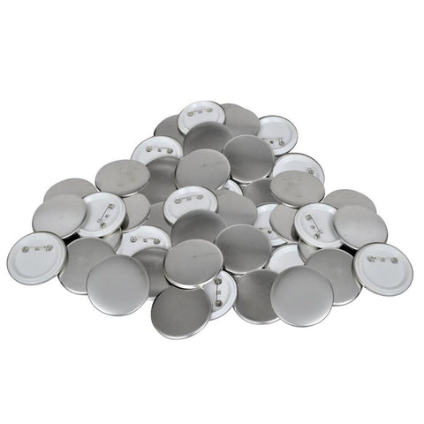 25mm PinBack Button Parts (500 Sets)