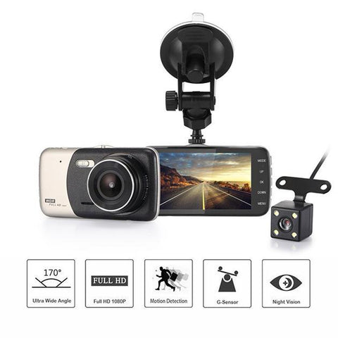 Next Gen HD Front & Rear Car Dash Camera - Groupy Buy