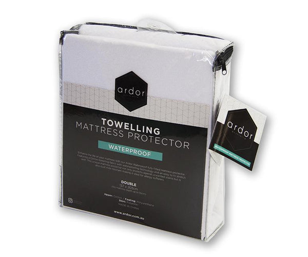 Ardor Towelling Waterproof Mattress Protector