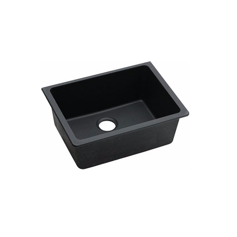 Black Granite Quartz Stone Kitchen Sinks 635 X 469 X 241 Mm