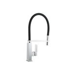 Black Hose 360 Degree Swivel Spout Kitchen Mixer