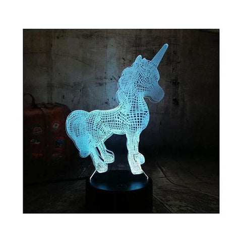 3D Colour-Changing Lamp - 5 Designs