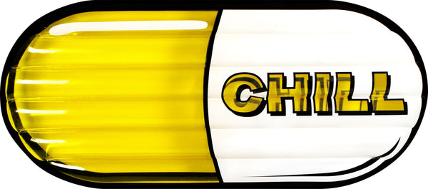Chill Pill 186x83x15cm Yellow