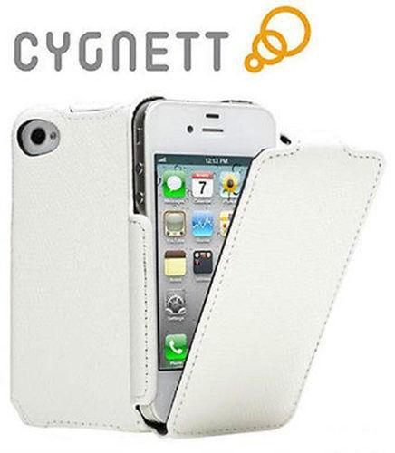 Cygnett Paparazzi Textured iPhone 4/ 4S Flip Case (White)