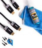 Belkin 3D Home Theater HDMI/HD Cables & Screen Cleaner Kit