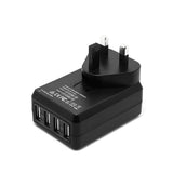 Mozbit 4.5A 4-Port USB Rapid Travel Charger