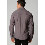 Deacon Martini Check Shirt - Crimson/Black/ Extra Large