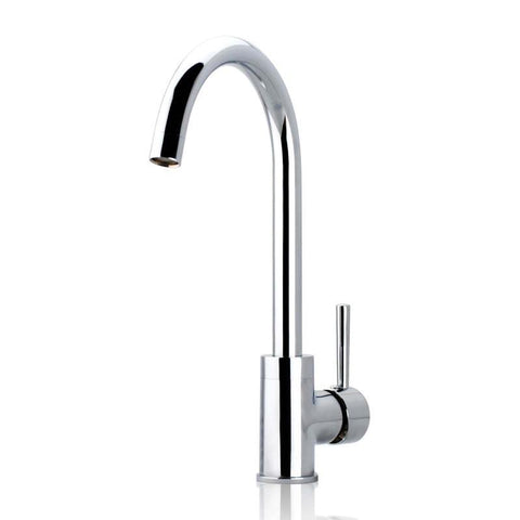 Euro Classic Round Chrome Long Kitchen Sink Mixer