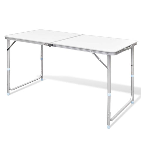Foldable Aluminum Camping Table (120cm x 60cm)