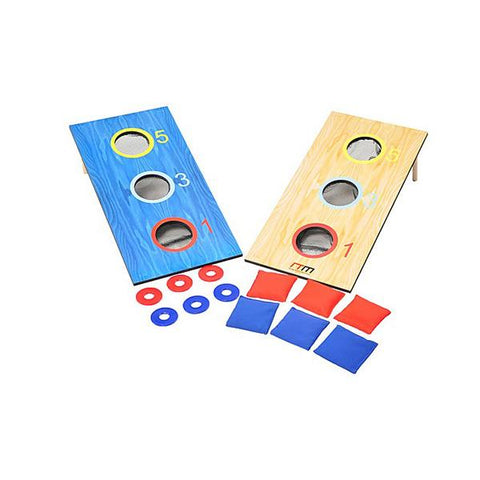 2In1 Three Hole Bags And Washer Toss Combo Cornhole Portable Games