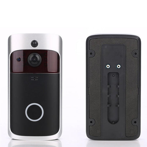 HD Smart WiFi Security Video Doorbell With 18650 Battery - Groupy Buy