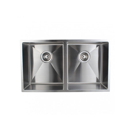 Handmade Double Bowls Kitchen Sinks 770 X 450 X 215 Mm