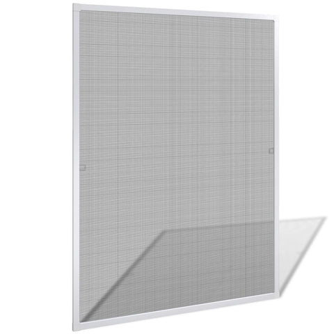 Insect Screen For Windows 100 x 120 Cm - White