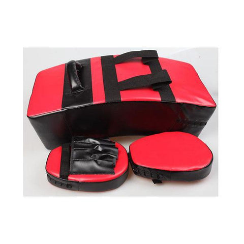 Kickboxing Sparring Shield & Punching Pad Mitts Combo
