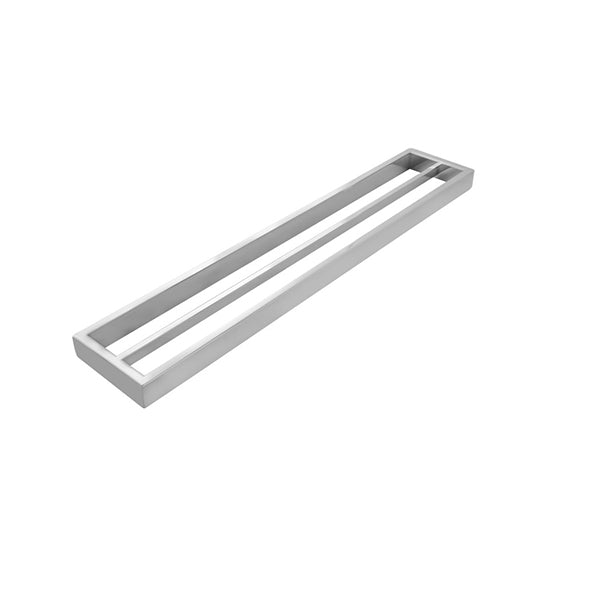 Omar Chrome Double Towel Rails 600 Mm
