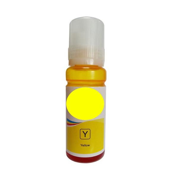 Premium Compatible Refill Bottle Replacement For T502 Yellow