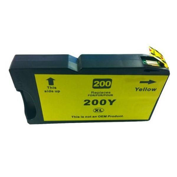 200XL / 220XL Pigment Yellow Compatible Cartridge