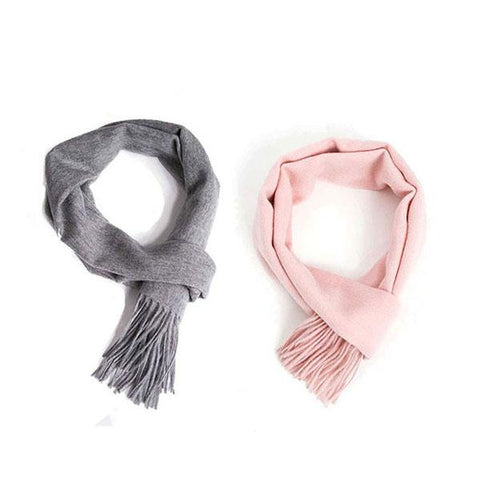 Posh Fleece Pure Wool Scarf 170cm X 30cm Twin Pack
