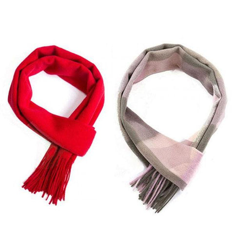 Posh Fleece Pure Wool Scarf Twin Pack
