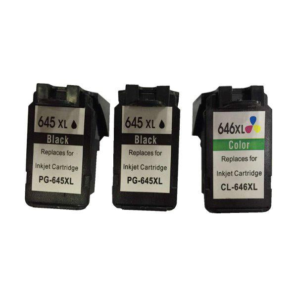 Remanufactured Value Pack 2x PG640XL And 1x CL641XL Colour New Chip