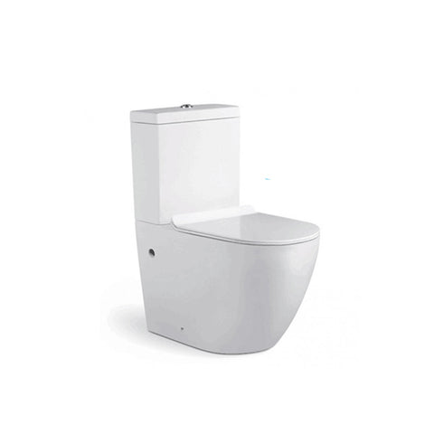 Rimless Two Piece Toilet
