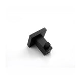 Square Black 304 Stainless Steel Robe Hook