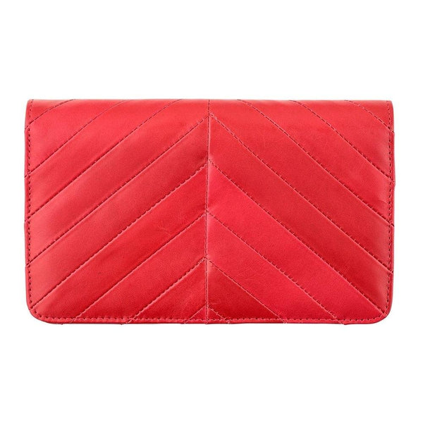 Status Anxiety Mildred Red Wallet
