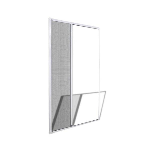 White Sliding Insect Screen For Doors 120 X 215 Cm