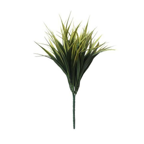 Yellow Tipped Grass Stem Uv Resistant 35 Cm