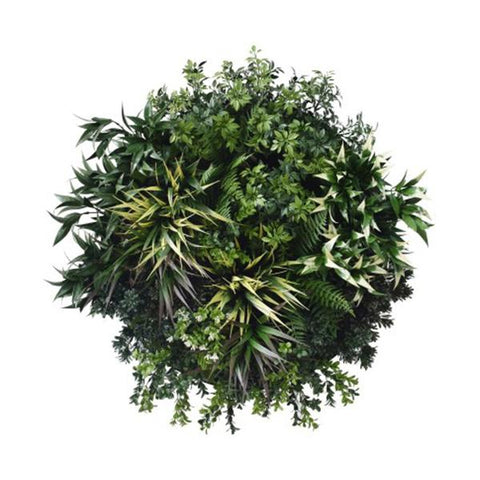 Uv Green Fields Green Wall Disc Black 60 Cm