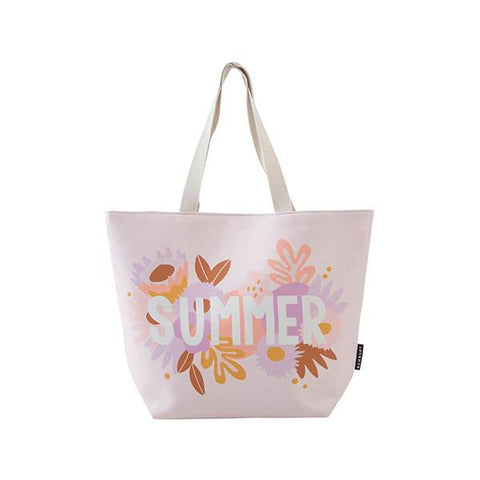 Bambury Printed Beach Tote Bag