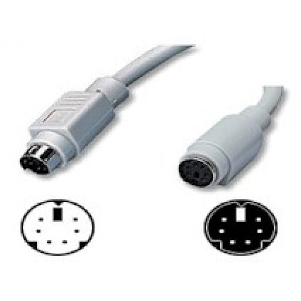 3m Ps/2 Extension Cable