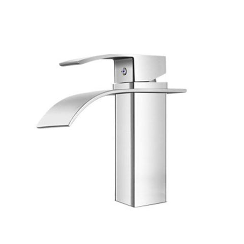 Mixer Tap Bathroom Taps Faucet Basin Sink Vanity Brass Chrome Silver