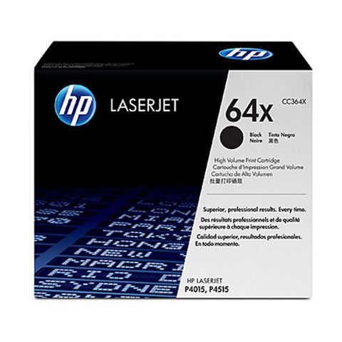 Hp 64X Black Toner Cc364X