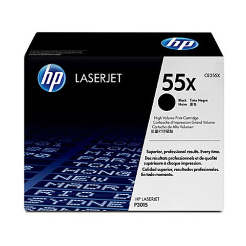 Hp 55X Black Toner Ce255X
