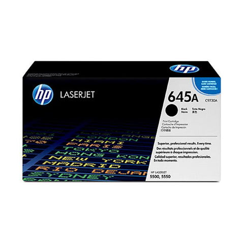 Hp 645A Black Toner C9730A