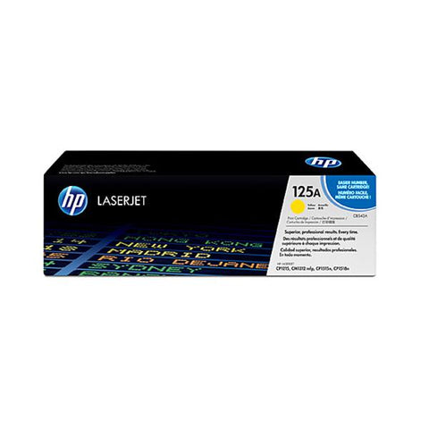 Hp 125A Yellow Toner Cb542A