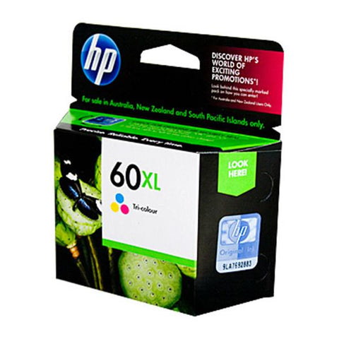 Hp 60Xl Tri Col Ink Cc644Wa